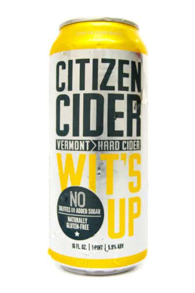 Citizen Cider Wit's Up