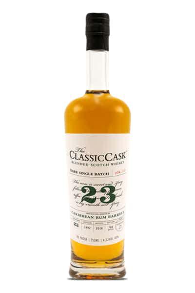 Classic Cask 23 Year Old Caribbean Rum Finish Scotch