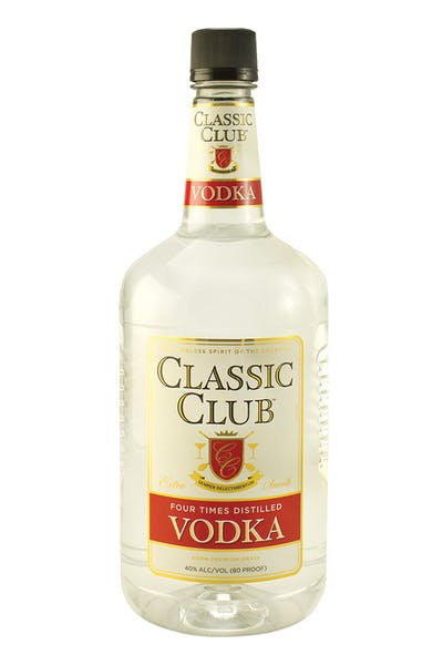 Classic Club Vodka