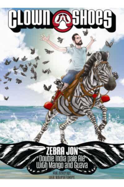 Clown Shoes Zebra Jon