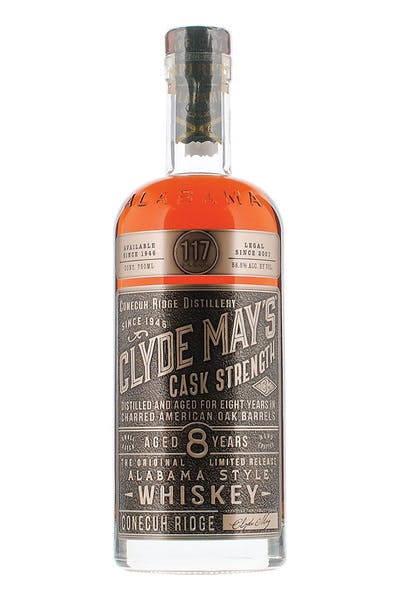 Clyde May's Cask Strength 8 Year
