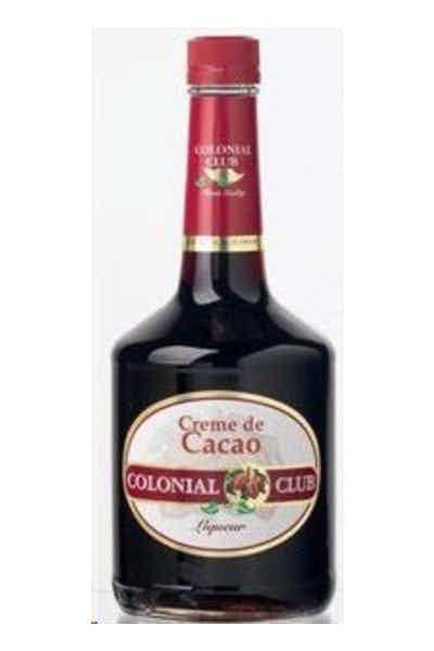 Colonial Club Dark Cream De Cacao Liqueur