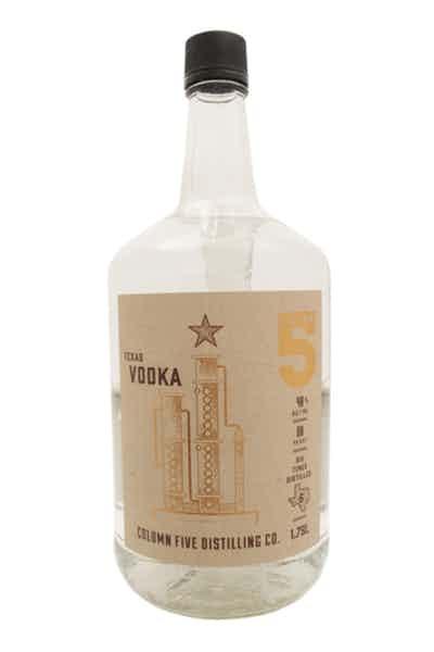 Column Five Texas Vodka