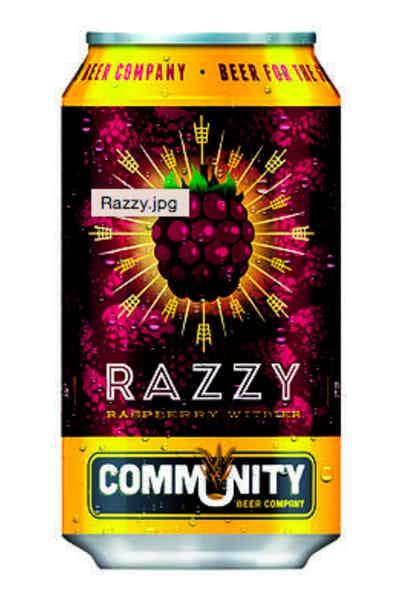 Community Brewing Company Razzy Raspberry Witbier