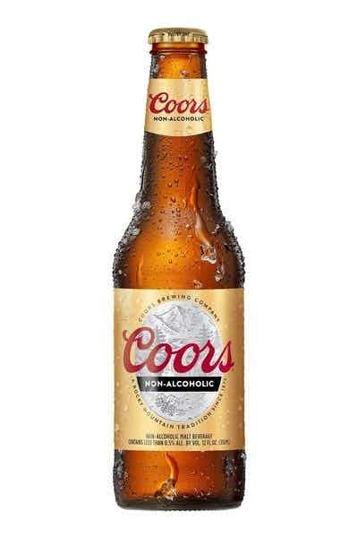 Coors Non-Alcoholic Beer