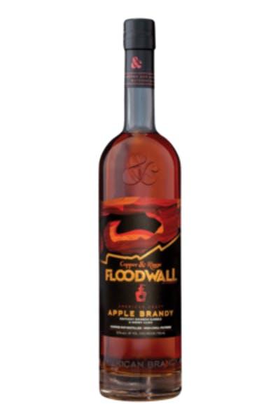 Copper & Kings Floodwall Apple Brandy .