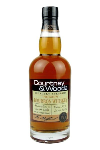 Courtney & Woods Bourbon Whiskey