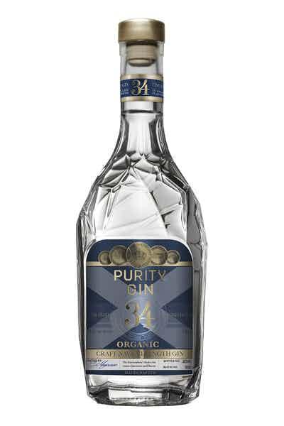 Purity Distillery Craft Nordic Navy Strength Organic Gin