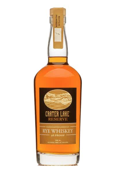 Crater Lake Reserve Rye Whiskey