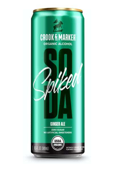 Crook & Marker Ginger Ale Spiked Soda