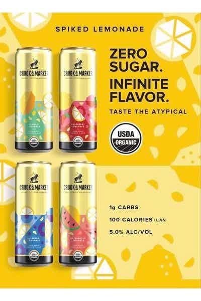Crook & Marker Spiked Lemonade Variety Pack