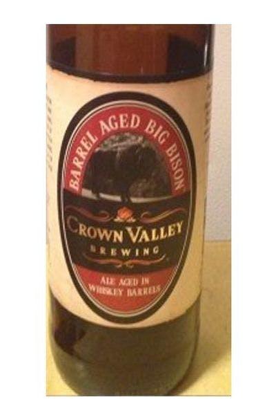 Crown Valley Big Bison Barrel Age