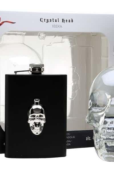 Crystal Head Vodka W/ Flask