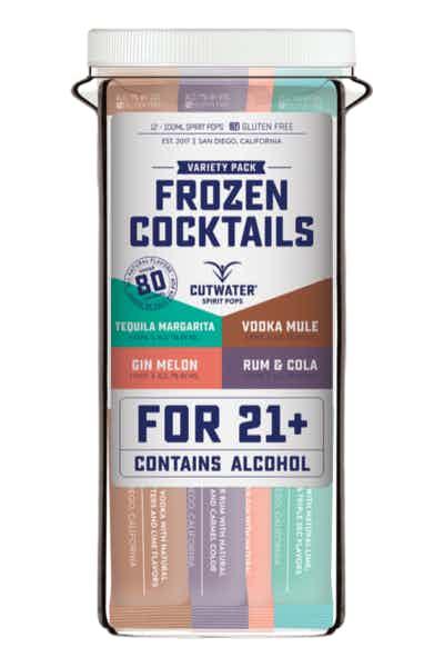 Cutwater Frozen Cocktails Spirit Pops Variety Pack