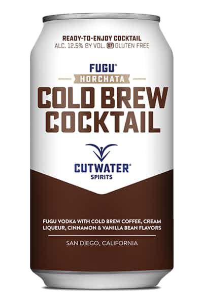 Cutwater Horchata Cold Brew Cocktail