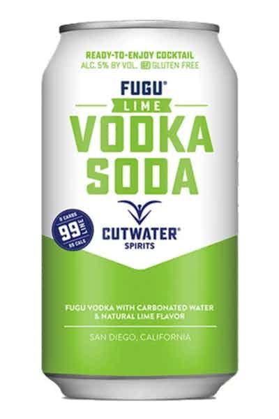 Cutwater Spirits Lime Vodka Soda