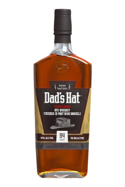 Dad's Hat Port Finish Rye