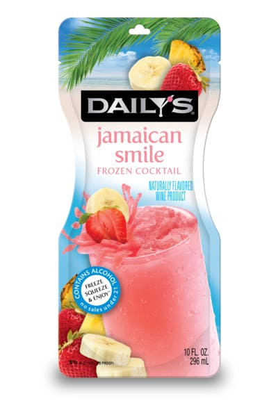 Daily's Jamaican Smile Frozen Pouch
