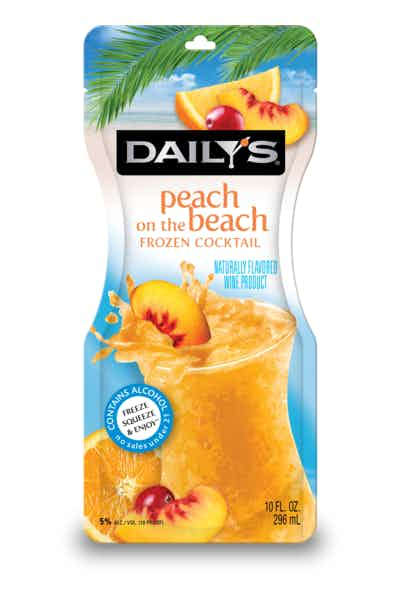 Daily's Peach on the Beach Frozen Pouch