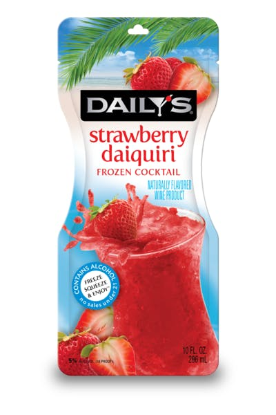 Daily's Strawberry Daiquiri Frozen Pouch