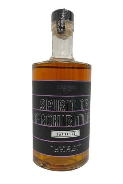 """Dark Door Spirits """"Barreled Spirit of Prohibition"""" Gin"""