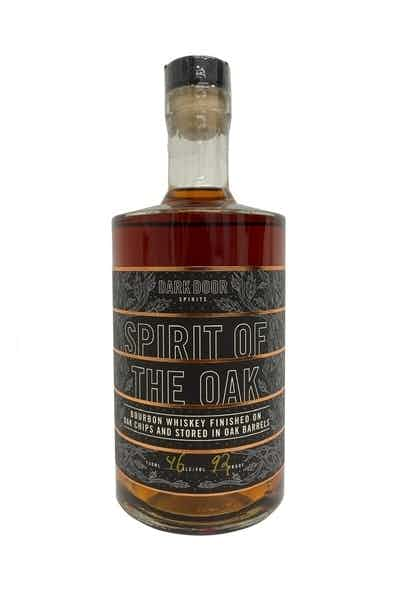 "Dark Door Spirits ""Spirit of the Oak"" Whiskey"