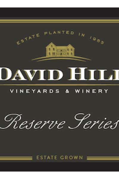 David Hill Estate Reserve Chardonnay