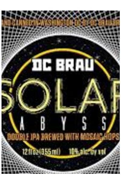 DC Brau Solar Abyss Double IPA