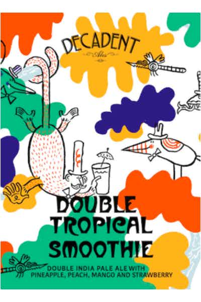 Decadent Ales Double Tropical Smoothie Double IPA