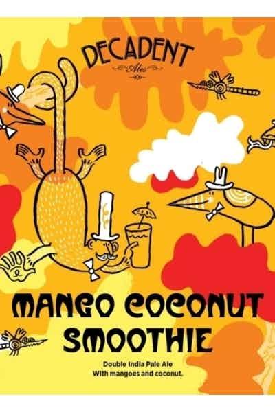 Decadent Ales Mango Coconut Smoothie IPA