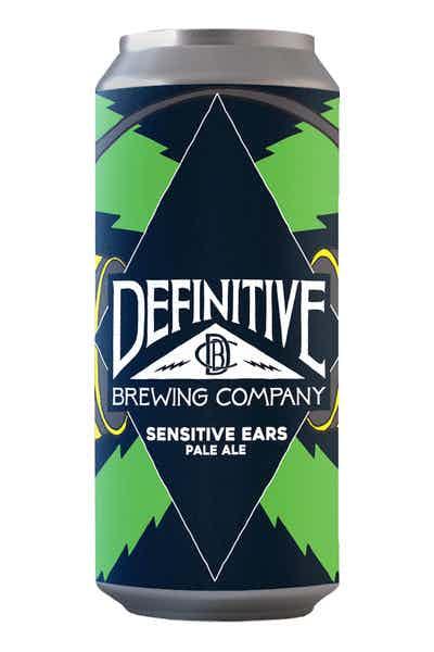 Definitive Sensitive Ears Pale Ale