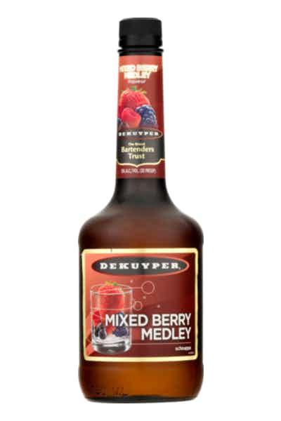 DeKuyper Mixed Berry Medley Schnapps Liqueur
