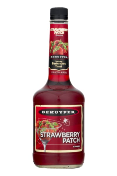 DeKuyper Strawberry Patch Schnapps Liqueur