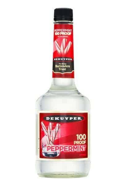DeKuyper 100 Proof Peppermint Schnapps Liqueur