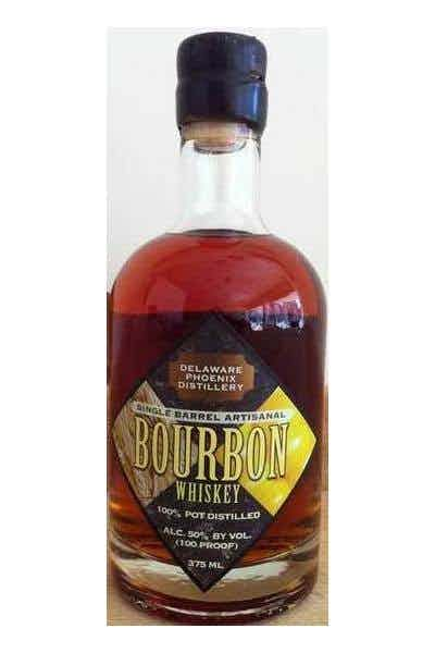 Delaware Phoenix Distillery Single Barrel Bourbon Whiskey