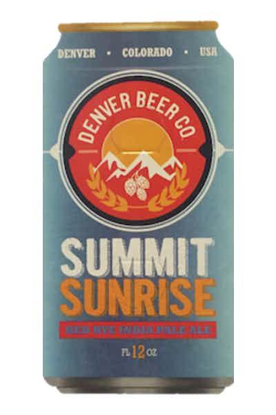 Denver Beer Co. Summit Sunrise Red Rye IPA