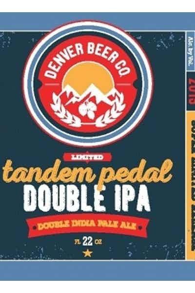 Denver Beer Tandem Pedal Double IPA