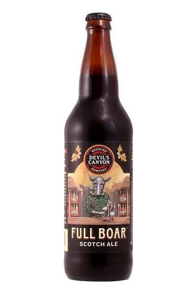 Devil's Canyon Full Boar Scotch Ale