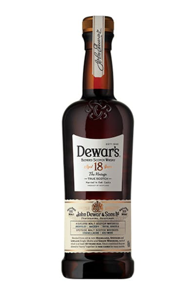 Dewar's 18 Year