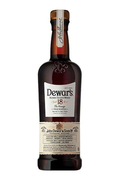 Dewar's 18 Year Blended Scotch Whisky
