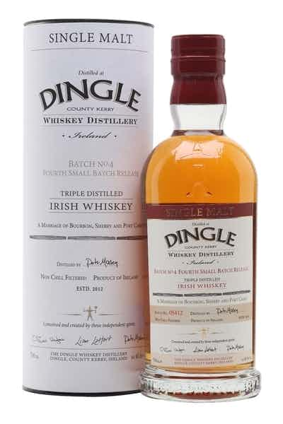 Dingle Distillery Batch No.4 Single Malt Irish Whiskey