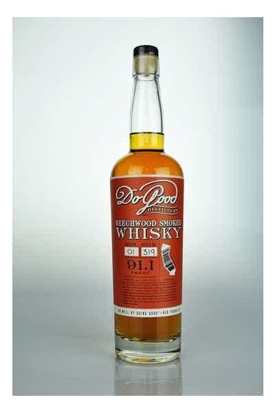 Do Good Beechwood Smoked Whiskey