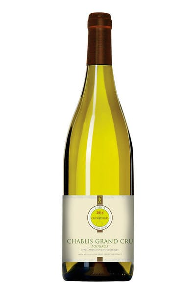 Domaine Chenevieres Chablis Grand Cru Bougros