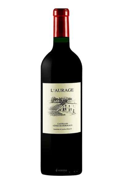 Domaine De L'aurage Castillon Côtes De Bordeaux