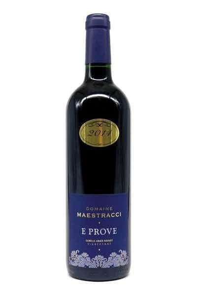 Domaine Maestracci Corse Calvi E Prove Rouge