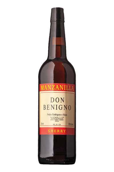 Don Benigno Manzanilla Sherry