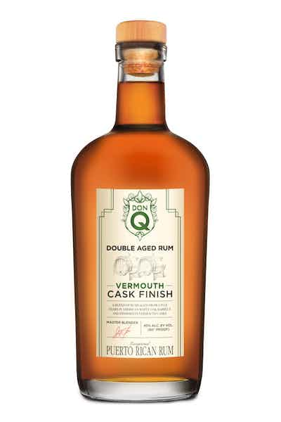Don Q Double Aged Vermouth Cask Finish Rum