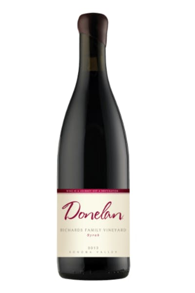 Donelan Family Richards Vineyard Syrah 2012