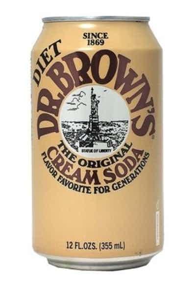 Dr. Brown Diet Cream Soda