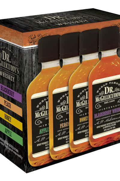 Dr McGillicuddy's Assorted Whiskey Four Pack